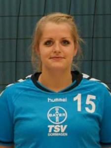 Rebeca Rosa Marques spielte für Alex Kohts über die Mitte. Nach Anlaufschwierigkeiten fand sie ins Spiel und hatte großen Anteil am Sieg des TSV.