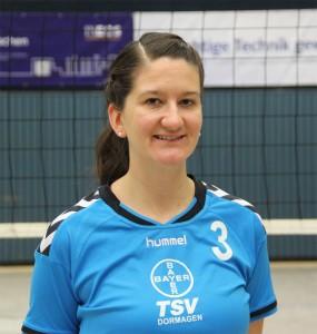 Libera Steffi Hochschon ist rechtzeitig von ihrer Dienstreise zurück und steht dem TSV am Samstag wieder zur Verfügung